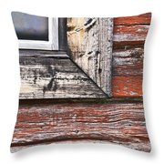 A Quarter Window Throw Pillow
