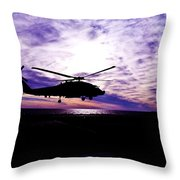 A Quiet Watch Throw Pillow