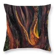 A Radiant Heart Light Throw Pillow by Daina White