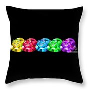 A Rainbow Cats 2 Throw Pillow