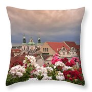 A Rainy Day In Prague 2 Throw Pillow