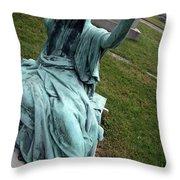 A Raised Hand -- Thomas Trueman Gaff Memorial -- 2 Throw Pillow