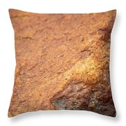 A Red Rock Throw Pillow