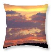 A Remarkable Sky Throw Pillow