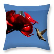 A Return Customer Throw Pillow