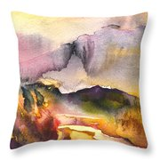 A River In France Throw Pillow