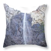 A Rock Face Throw Pillow
