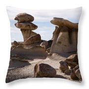 A Rock Garden Throw Pillow