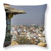 A Room With A View.. Throw Pillow