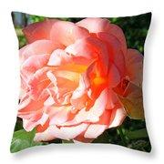 A Rose And A Rose Throw Pillow