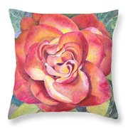 A Rose For Mom Throw Pillow