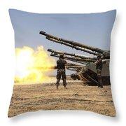 A Royal Jordanian Land Force Challenger Throw Pillow
