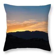 A Rural Setting Throw Pillow