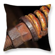 A Rusty Spring Throw Pillow