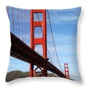 A San Francisco Icon Throw Pillow