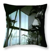 A Screened Patio Throw Pillow