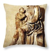 A Sculpture Unknown Throw Pillow