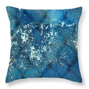 A Sea Of Patterns Throw Pillow