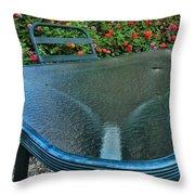 A Sea Of Zinnias 03 Throw Pillow