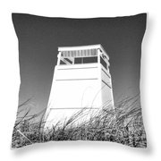 A Seat At Bend In The Road Throw Pillow