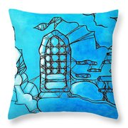 A Secluded Place Throw Pillow