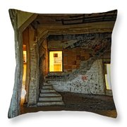 A Sense Of Abandonment Throw Pillow