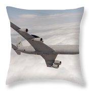 A Sentry Aew1 Of No 8 Squadron Throw Pillow