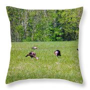 A Shot Of Wild Turkey Throw Pillow