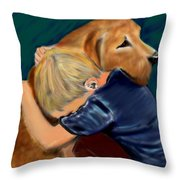A Shoulder To Cry On Throw Pillow