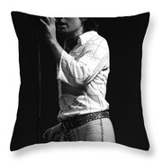 A Simple Man Throw Pillow