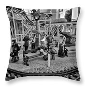 A Simpler Way Of Life Sunday Morning Throw Pillow