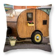 A Simpler Way To Travel Throw Pillow