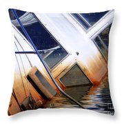 A Sinking Feeling Throw Pillow