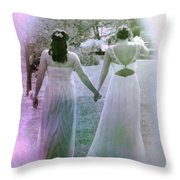 A Sister In Christ Throw Pillow