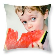 A Slice Of Life Throw Pillow