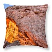 A Slice Of Orange Throw Pillow