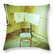 A Small Chair Throw Pillow