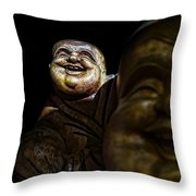 A Smile On The Shoulder Throw Pillow