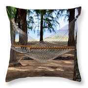 A Snooze By The Ocean Throw Pillow