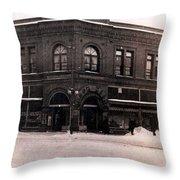A Snow Day Throw Pillow