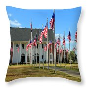 A Soldier Died Today Throw Pillow