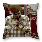 A Song For You Throw Pillow