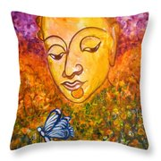 A Soulful Journey Throw Pillow