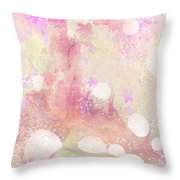 A Sparrow Sings Alone Throw Pillow