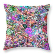 A Splash Of Abstract Throw Pillow
