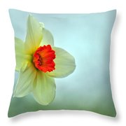 A Spring Greeting Throw Pillow