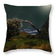 A Sprinkling Of Stars Throw Pillow