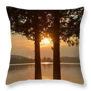 A Star Between Two Old Friends Throw Pillow