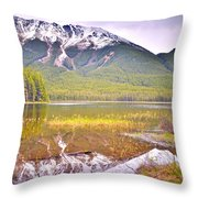 A Still Day At Buck Lake Throw Pillow