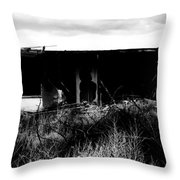A Story Ends Throw Pillow